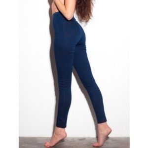 American Apparel The Easy Jean in Dark Wash XXS